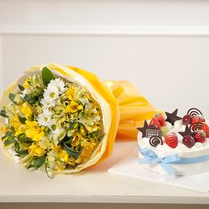 봄의소리+케익
