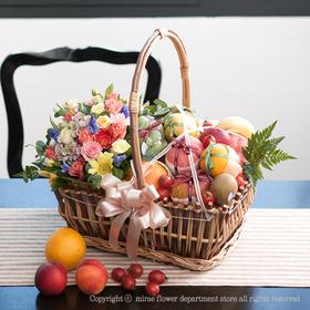 FN3405 정성가득 꽃과일바구니