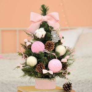 진짜목화 핑크 크리스마스트리(고급)