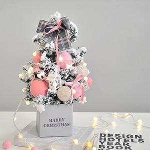눈내린 크리스마스트리(DIY)+알전구