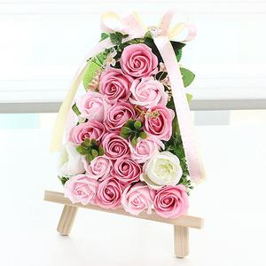 bj2203 쁘띠이젤(핑크) 비누꽃
